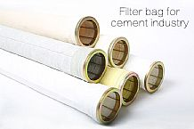 Industrial baghouse filter bags for cement plant